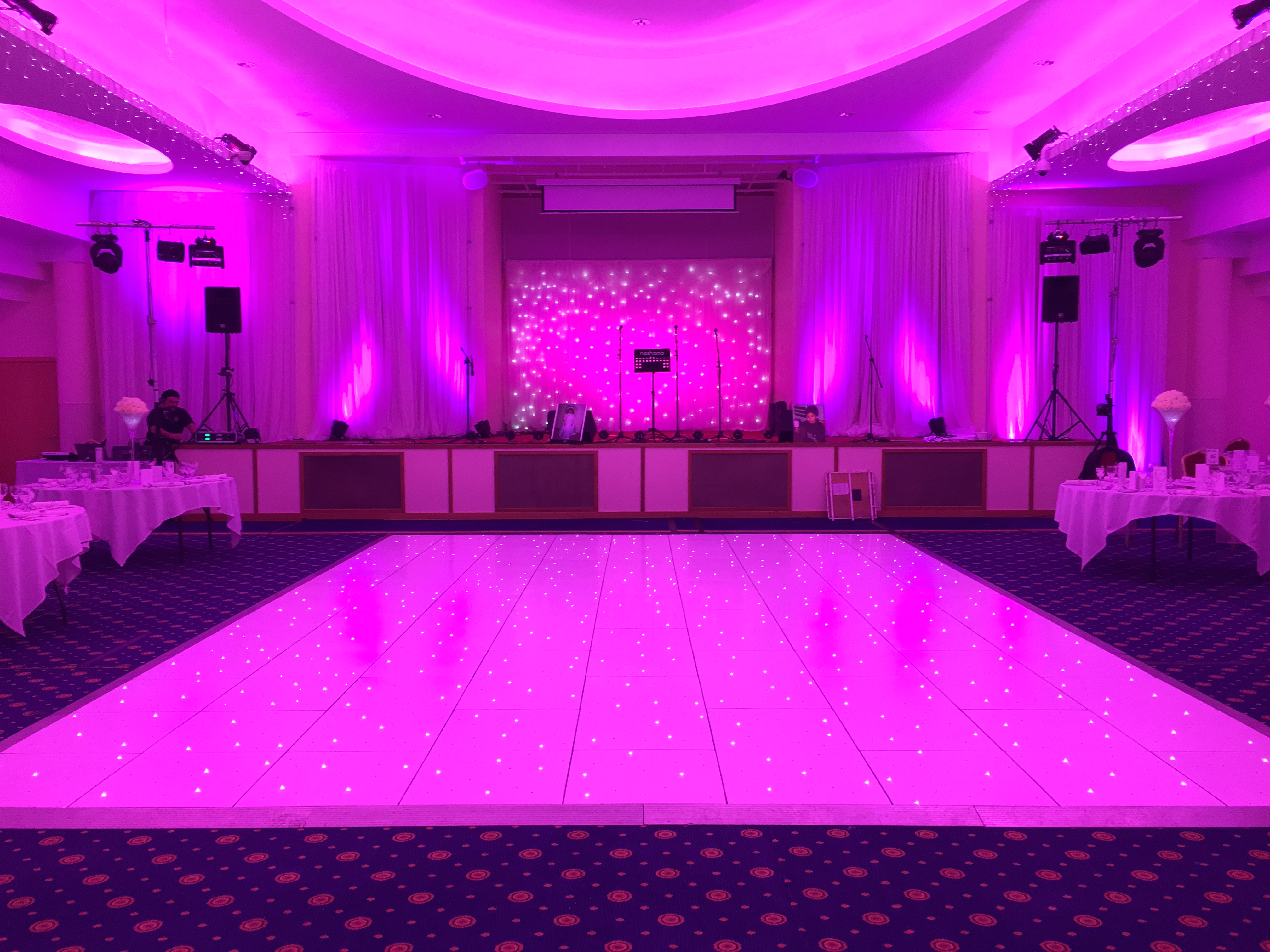 White LED Dance Floor [6]